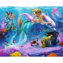 Walltastic Mermaids 3D tapeta